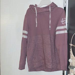 Gently worn PINK hoodie!!
